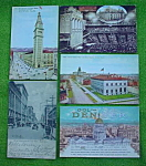 Click to view larger image of 9 Old Denver, Colorado Postcards (Image1)