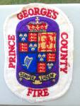 Click here to enlarge image and see more about item pp13: Prince Georges County Fire Patch