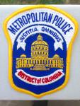 Click here to enlarge image and see more about item pp2: Metropolitan Police DC Patch