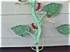 Click to view larger image of 1950's Iron Tree Branch w/Bird Plant Holders (Image4)