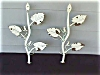 Click to view larger image of 1950's Iron Tree Branch w/Bird Plant Holders (Image7)