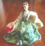 Click here to enlarge image and see more about item r49: Royal Doulton Figurine Elyse