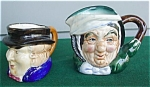 Pr. of Occupied Japan Toby Handled Mugs