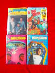 Click here to enlarge image and see more about item t015: 4 1970's Star Trek Book & Record Sets Sealed