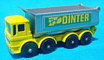 Click to view larger image of Matchbox #51 8 Wheel Tipper w/Box (Image1)