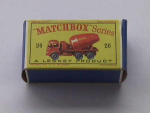 Matchbox Series No. 26 Foden Cement Mixer Tru