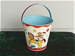 Exc. Chein Circus Theme Child's Sand Pail