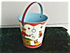 Click to view larger image of Exc. Chein Circus Theme Child's Sand Pail (Image2)