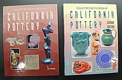 Collector's Encyclopedia Of California Pottery- 2 Books