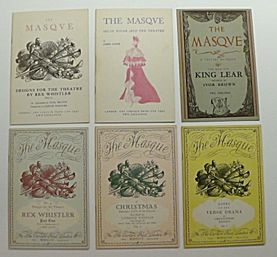 6 Vol The Masque Old Vic King Lear Designs Theatre
