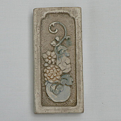 Claycraft Vase And Flowers Tile