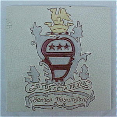Wheeling George Washington / Crest Tile (Image1)