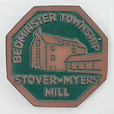 Moravian Tile Stover Myers Mill ~ Bedminster Penn (Image1)