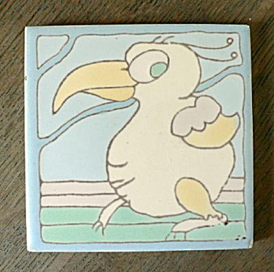 Santa Monica Tile (Taylor) - Whimsical Bird #2 (Image1)