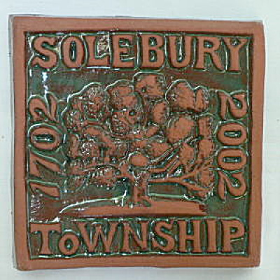 Solebury PA Commemorative Tile (Image1)