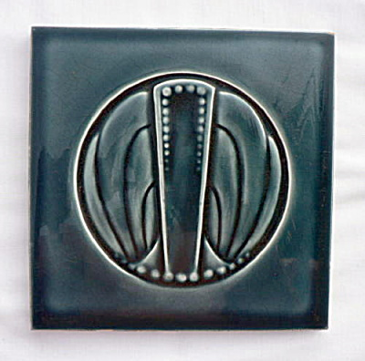 Art Nouveau Tile  - Great Design (Image1)