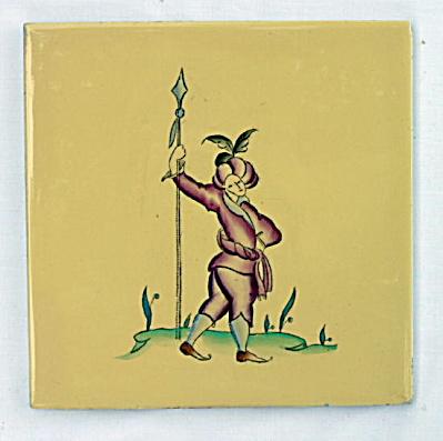 European Figural Tile (Image1)