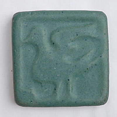 Arts & Crafts Matte Glaze Bird Tile (Image1)