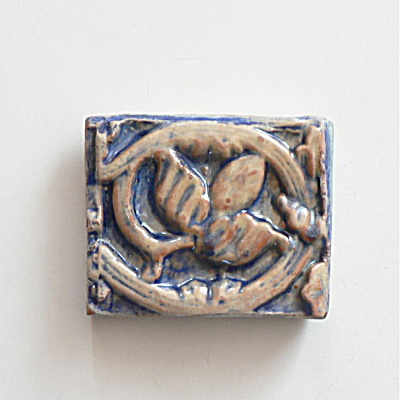 Mercer Moravian Byzantine Tile � Little Pomegranate (Image1)