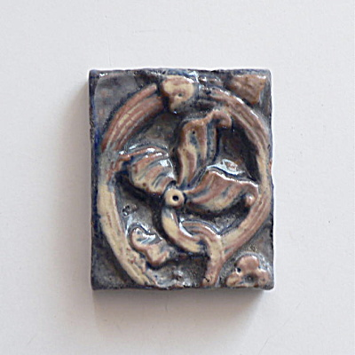 Mercer Moravian Byzantine Tile � Little Trefoil  (Image1)