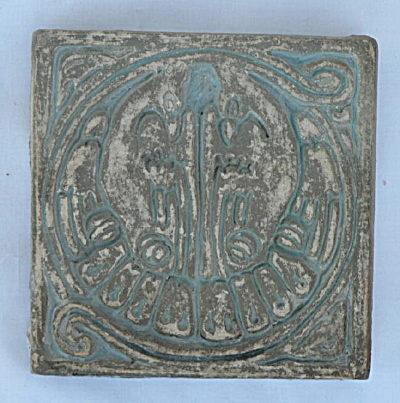 Batchelder Tile - Two Birds (#1) (Image1)