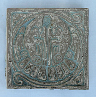Batchelder Tile - Two Birds (#2) (Image1)