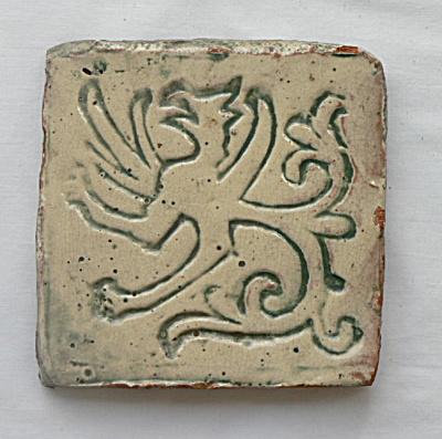 Moravian Griffin Tile - #3 (Image1)