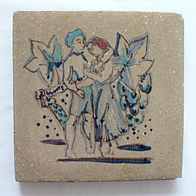 Rookwood Faience Hand Painted Tile (Image1)