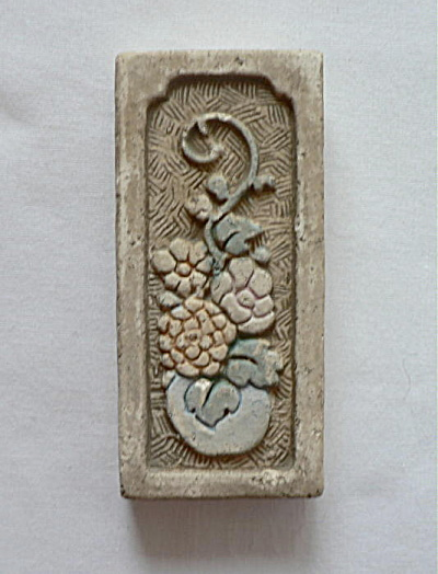 Claycraft Vase and Flowers Tile #2 (Image1)