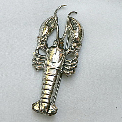 Sterling Lobster Pin (Image1)