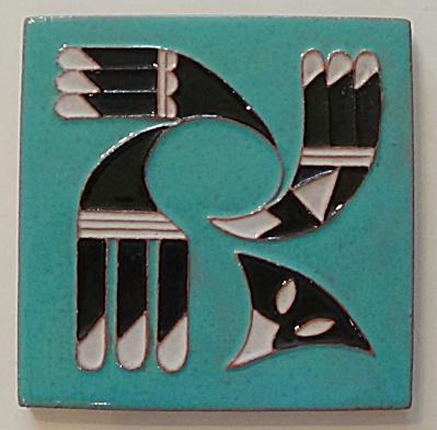 DHC Desert House Crafts ~ Symbolic Eagle Tile (Image1)