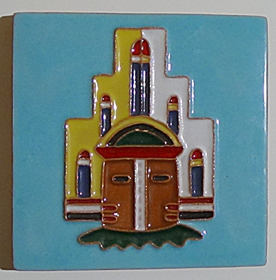 6 Inch Hemis Hopi Kachina Tile By Desert House Crafts