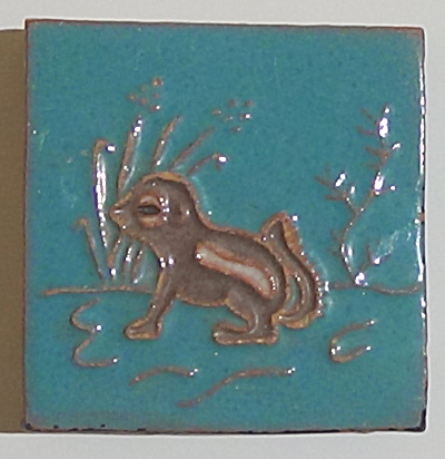 Chipmunk Tile 3 Inch Dhc - Desert House Craft - Tucson