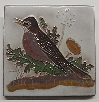 4 Inch Robin Tile - Facing Left