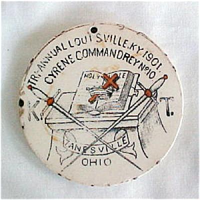 AET Knights Templar Medallion - 1901 (Image1)