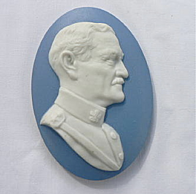 General Pershing Tile Paperweight (Image1)