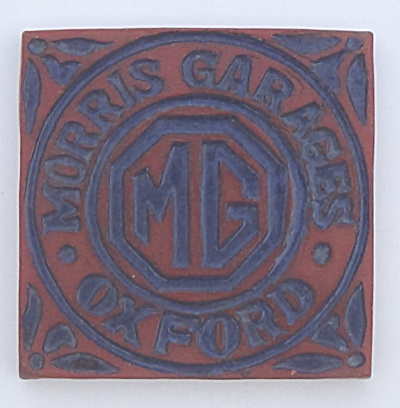 Morris Garages Mg Tile - Oxford England