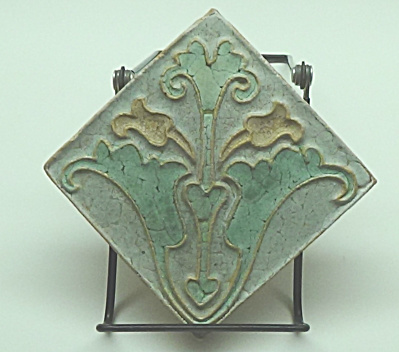Wheatley Tile - Floral - Circa 1915