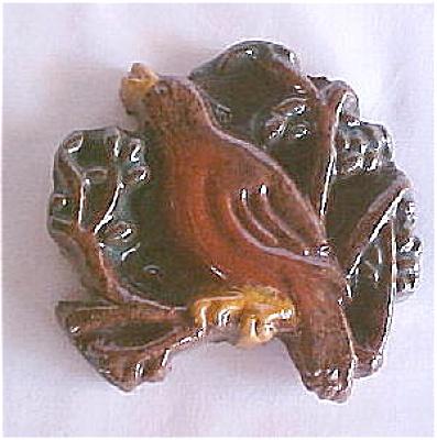Moravian Robin in Tree - Brocade Tile - Mercer (Image1)