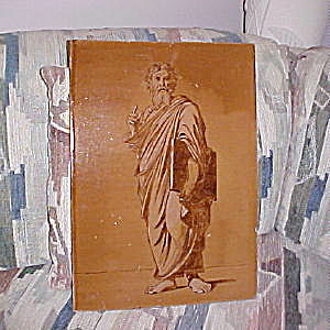 Moses and the Tablets Antique Tile Panel (Image1)