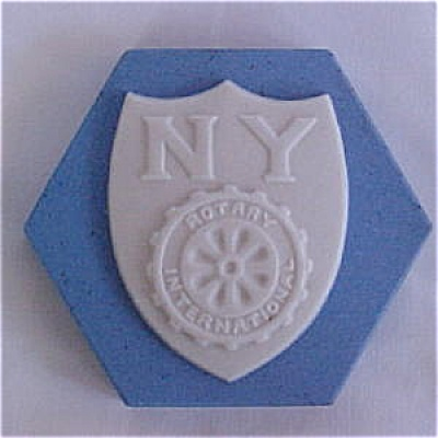 NY Rotary Commemorative Tile by Mosaic Tile Company (Image1)