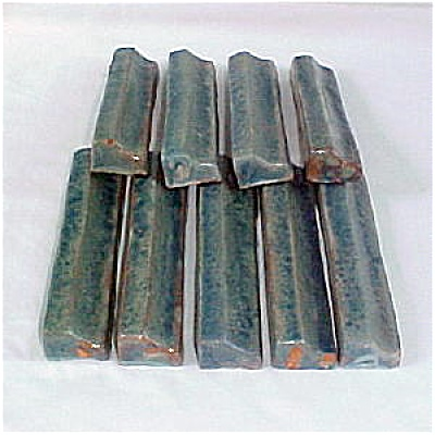 Moravian Pottery Vintage Border Tiles Set (Image1)