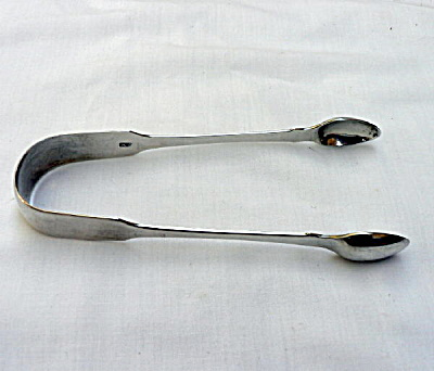 Georgian Silver Sugar Tongs