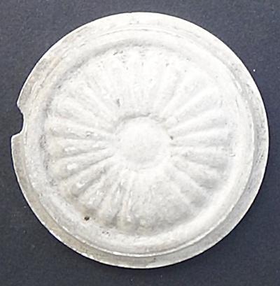 1.5 Inch Unglazed Round Stove Tile (Image1)