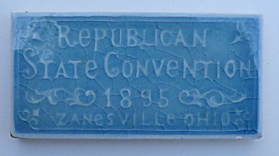 1895 Republican State Convention Tile