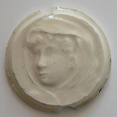 Rare Kensington Stove Tile - Portrait   (Image1)