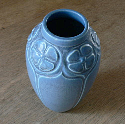 Rookwood Tall Blue Vase (Image1)