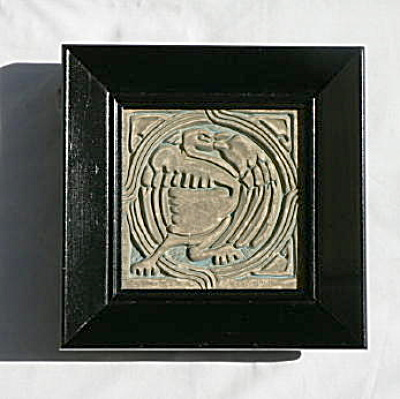 Batchelder Tile with Mythical Bird (Image1)