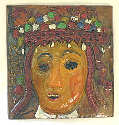 German Folk Art Tile (Image1)