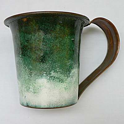 Nekrassoff Large Handled Mug - Greens